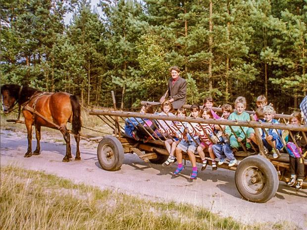 1991 wyjazd nad jezioro