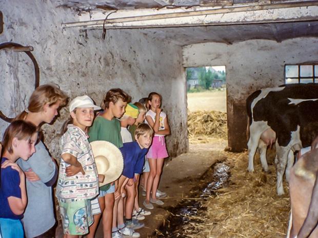 1994 wizyta w gospodarstwie